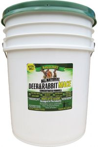 Deer repellent for commercial farm